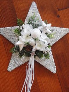 Christmas Decorations Sewing, Christmas Diy, Christmas Crafts, Christmas Ornaments, Diy Weihnachten, Home And Deco, Holiday Wreaths, Holiday Decor, Home Decor
