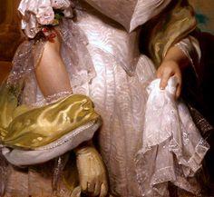 Portrait d'Angelina Singleton Van Buren (Détail) Henry Inmann 1842