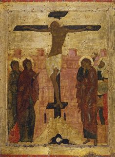 Новости Byzantine Icons, Byzantine Art, Andrei Rublev, Crucifixion Of Jesus, Medieval Paintings, Tribe Of Judah, Russian Icons, Holy Cross, Orthodox Icons