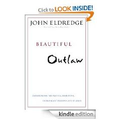 The new book by Eldredge. Soooooo good! Jim and I are reading together