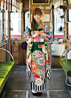 Shiraishi Mai | Nogizaka46 Shiraishi Mai Kimono | Kyoto Sweet Collection