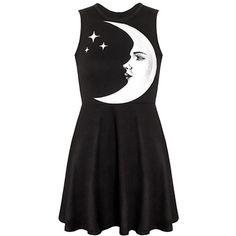 KillStar Moonchild skater dress