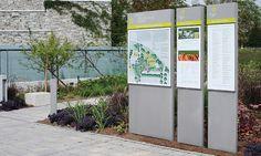 Garden Signage, Toronto Botanical Garden, Adams + Associates Design Consultants #SEGD