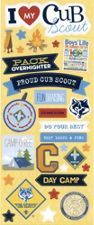 """I Love My Cub Scout"" Stickers"