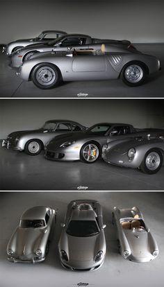 Porsche Heritage the early cars are / were so small and light with it Porsche 356 Speedster, Porsche 550, Porsche Carrera, Porsche Cars, My Dream Car, Dream Cars, Automobile, Mustang, Ferdinand Porsche