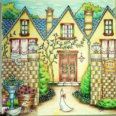 @nbrossini09 #coloringbook #romanticcountrycoloringbook #romanticcountry #eriy…