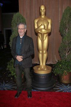 Steven Spielberg  85th Annual Academy Awards - Nominees Luncheon Steven Spielberg, Academy Awards, Statue, Film, Celebrities, People, Movies, Movie, Celebs