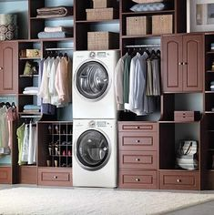 Laundry Room Design Ideas, Pictures, Remodels and Dec; HMMM Laundry room or Closet???