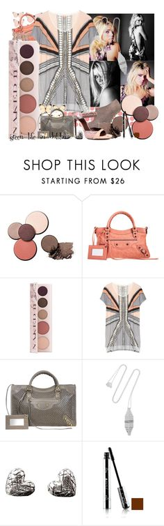 """""""Set Inspired By 100%Pure Pretty Naked II Palette!"""" by green-life-in-dublin ❤ liked on Polyvore featuring Camilla Skovgaard, Balenciaga, sass & bide, Alberta Ferretti, Eddie Borgo and greenbeauty"""