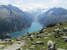 Schlegeisspeicher, Austria
