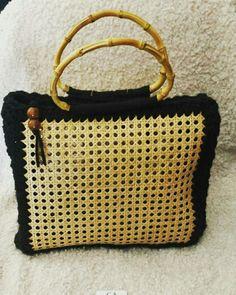 Bag crochet Paglia di Vienna  Fb page Handmade crochet  Made in Italy Uncinetto crochet
