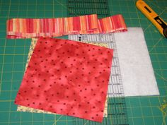 Quilted potholder instructions!