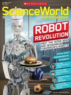 Each year, Science World magazine publishes a special issue featuring inventions and scientific research by teens to inspire students to pursue their own discoveries in STEM fields.   Download the issue's cover story about the FIRST Robotics Competition