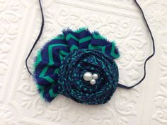 The In the Navy Now Headband or Hair Clip on Etsy, $10.99