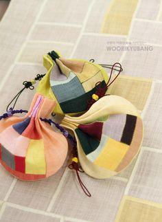 Korean traditional pouches