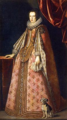 Claudia de´Medici wearing a pastel pink dress by ? (location unknown to gogm) | Grand Ladies | gogm