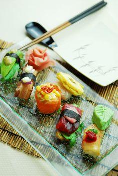 Sushi platter. <3 #sushi #japanesefood #foodart