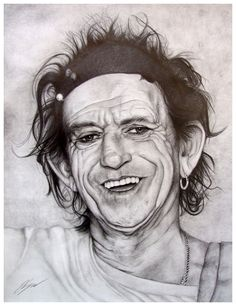 keith richards | Keith Richards Portrait by artcova on deviantART