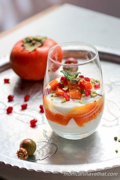 Made from wholesome ingredients, these Persimmon Yogurt Parfaits are simple and delicious!!
