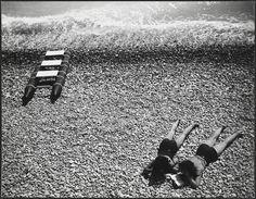 """Robert Doisneau // Photo from the book """" Doisneau et Pennac, Les Grandes Vacances, éditions Hoëbeke, 1991 """""""