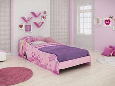 Cama Infantil - Pura Magia Barbie Plus