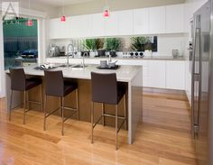 Large Kitchen Design Ideas | Kitchen Company Sydney, A-Plan Kitchens