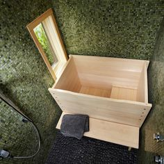 Japanese Soaking Tub Design Ideas, Pictures, Remodel, and Decor