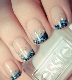 Looking for something glittery and edgy, but without going overboard? Here is your solution! http://ii.do/