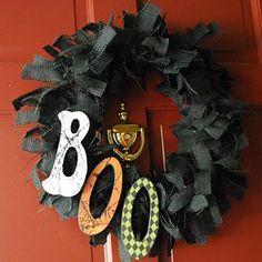 diy halloween decorations and crafts   ... -negra-y-la-palabra-boo-para-un-halloween-divertido-diy-manualidades3