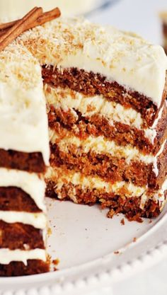 Hawaiian Carrot Cake with Coconut Icing