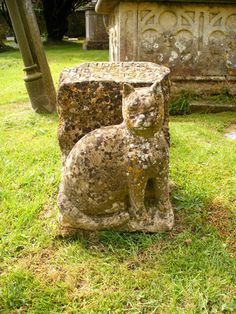 Fairford Church, Gloucestershire - grave of Tiddles the church cat