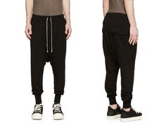 Gift for him. Mens Trousers – Men Casual Low Crotch Harem Pants – a unique product by Jiejiey via en.DaWanda.com