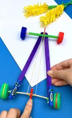 Diy Crafts Hacks, Diy Crafts For Gifts, Diy Home Crafts, Creative Crafts, Easy Crafts, Diy Projects, Boat Crafts, Airplane Crafts, Summer Crafts