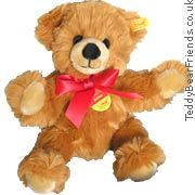 Steiff Little Bobby Bear  Little Bobby Dangling Bear is a russet brown bear who holds out his arms to welcome you and offer a   http://www.comparestoreprices.co.uk/teddy-bears/steiff-little-bobby-bear.asp