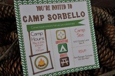 Camping Birthday Party Ideas | Photo 2 of 48 | Catch My Party