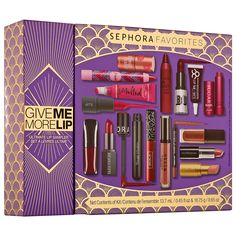 I. Want. Now.  Give Me More Lip - Sephora Favorites
