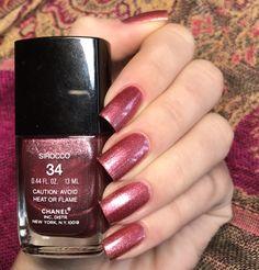 Chanel le vernis nail polish 34 sirocco usa version