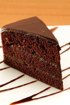 Chocolate and Coffee Black Magic Cake Dessert Recipe