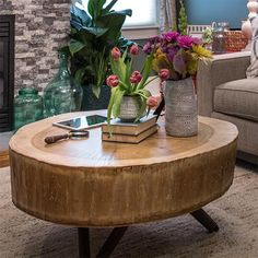 Tree stump tables are still making appearances in many homes as coffee table and side tables. There's a good reason for this... they are free! There are more than a few tree fellers who will gladly give away tree stumps that are normally headed for the dump, and if you're prepared to pay for the service, will cut a stump down to the perfect size for you. - See more at: http://www.home-dzine.co.za/diy/diy-stump-table.htm#sthash.8LuQfSMf.dpuf