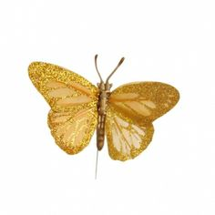 Gold Feather Butterfly