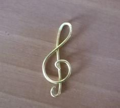 Chiave di violino tecnica wire - by Lalussi