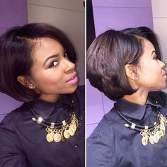HAIRSPIRATION| Love this #naturalhair bob on @blancoo ❤️ Beautiful cut✂️ So pretty #VoiceOfHair