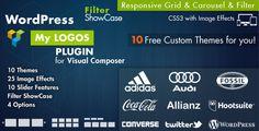 Logos Showcase For Vizual Composer WordPress Plugin