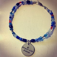 Available @ TrendTrunk.com Custom hand made beaded jewelry with charms. By Amys . Only $18!