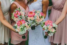 Beautiful vibrant flowers