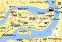Chongqing City Attraction Map