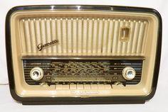 radio antiguo alemán telefunken mod. gavotte de 4 bandas