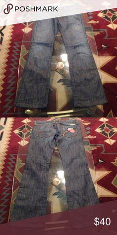 FRANKIE B JEANS SZ 8 FRABKE B JEANS SZ 8 Frankie B. Jeans Flare & Wide Leg