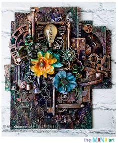 Ola Khomenok the mini art canvas