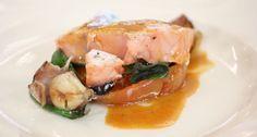 Cocina Actual: Receta Robin Food: Salmón noruego al estilo mediterráneo